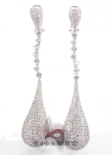 Tear Drop Earrings 2 Stone