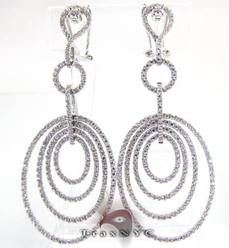 Swirl Earrings Stone