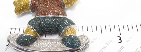 Custom Jewelry - Bart Simpson Pendant Metal