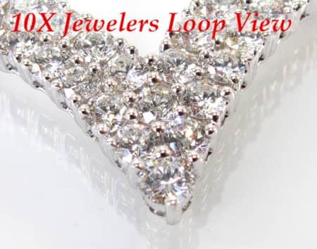 Ladies Queen Necklace Diamond