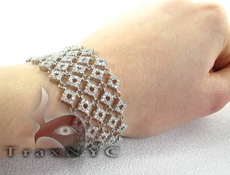Iced Linked Bracelet Diamond