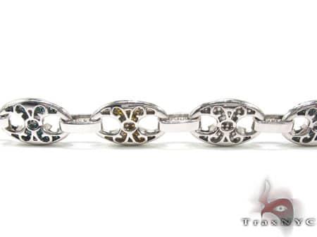 Tri-Colored Anchor Chain 30 Inches, 14mm, 118 Grams Diamond