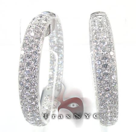 Grand Centre Earrings Stone