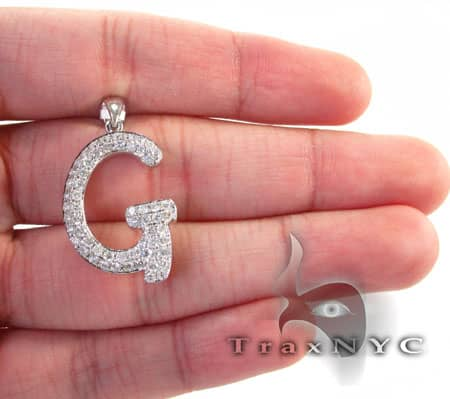 Frozen G Pendant Metal