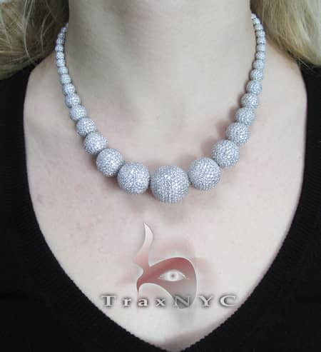 Orb Necklace Diamond