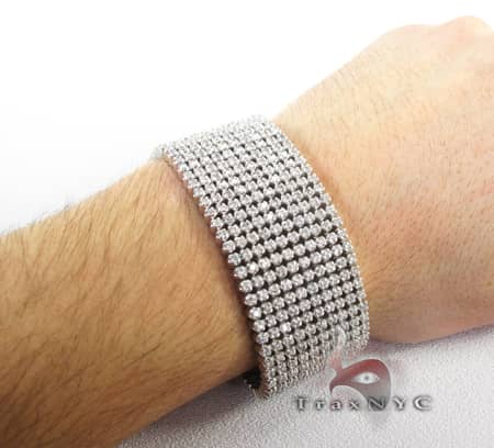 10 Row Toni Bracelet Diamond