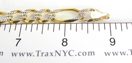 Yellow Gold Bracelet Plate 4 Gold
