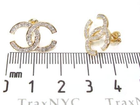 Crossover Earrings Stone