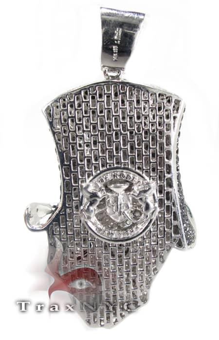 Custom Jewelry - Rich Boy Skull Pendant Style