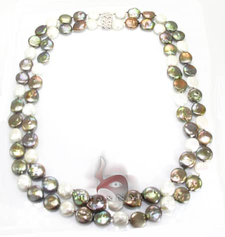 Double Strand Pearl Necklace Pearl