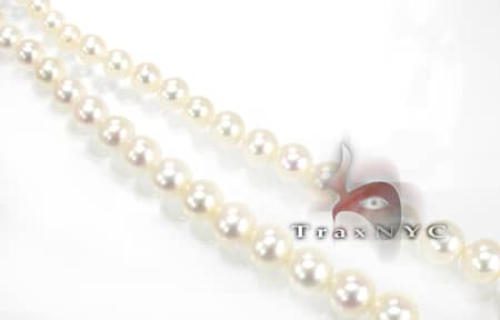 Ladies Pearl Necklace 8mm Pearl