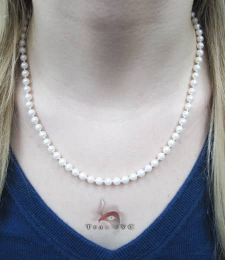 Natural Pearl Necklace 18.50 inches Pearl