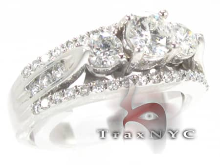White Gold Wedding Ring Engagement