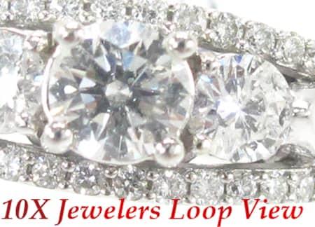 White Gold Wedding Ring Engagement