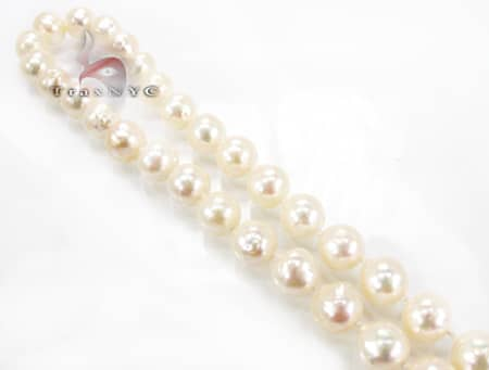 Japanese Baroque Pearl Necklace Pearl