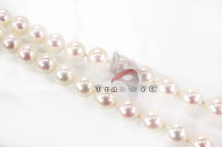 Cream Pearl Necklace Pearl