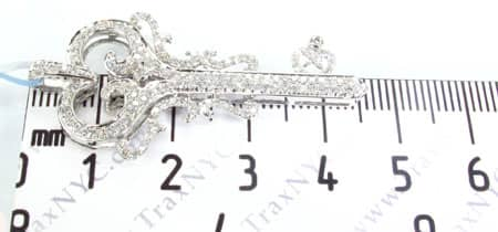 Iced Heart Key Pendant 2 Style
