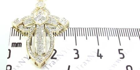 Folk Cross Diamond