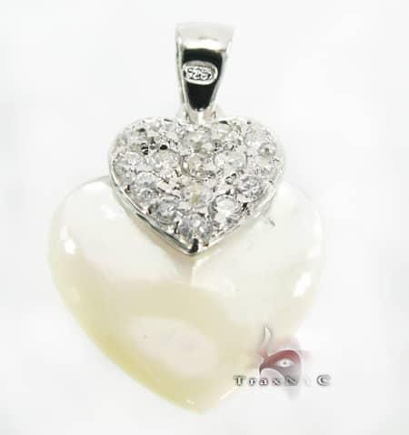 Heart Sterling Silver Pendant Metal