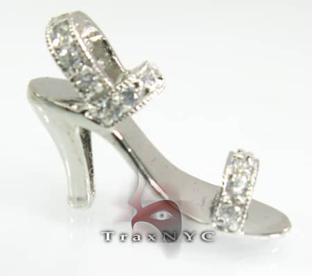 Shoe Sterling Silver Pendant Metal