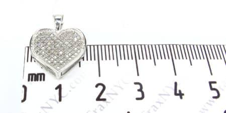 Frozen Arctic Heart Pendant Stone