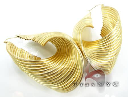 Golden Earrings Metal