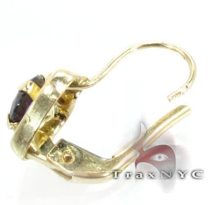 Golden Heart Earrings 5 Metal