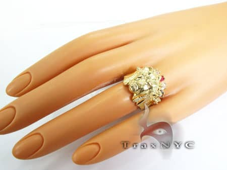 Multi Colored Sage Ring 2 Metal