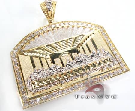 Golden Supper Pendant Metal