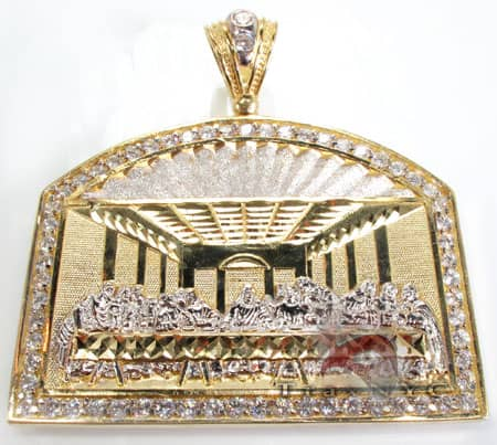 Golden Supper Pendant Metal