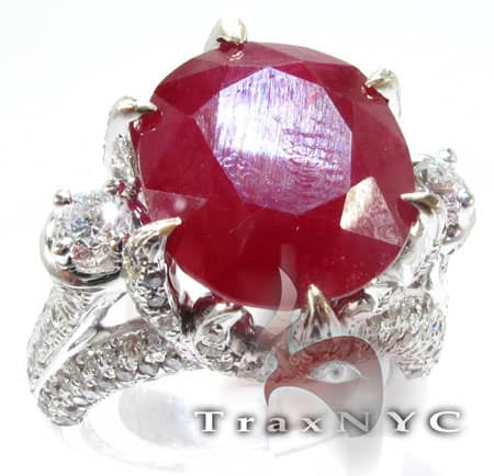Custom Jewelry - Royal Ruby Crimson Ring Anniversary/Fashion