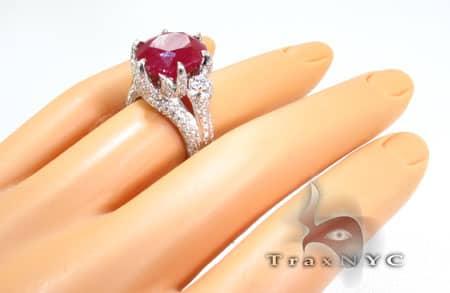 Custom Jewelry - Royal Ruby Crimson Ring Anniversary/Fashion