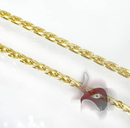 Yellow Gold Special Link Chain 14K 18in Gold