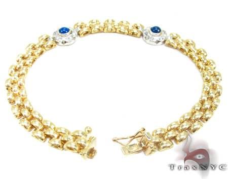 Golden Eye Bracelet Gold