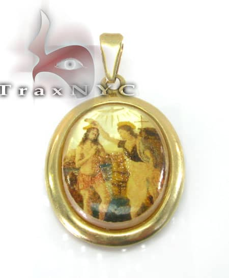 Jesus Locket Metal