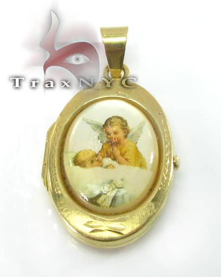 Angel Locket Metal