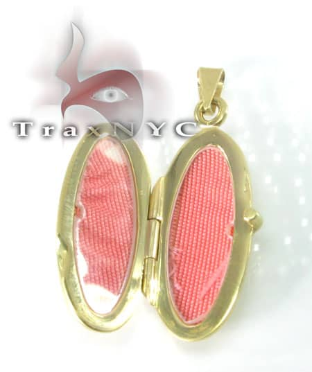 Two Tone Gold Locket Metal