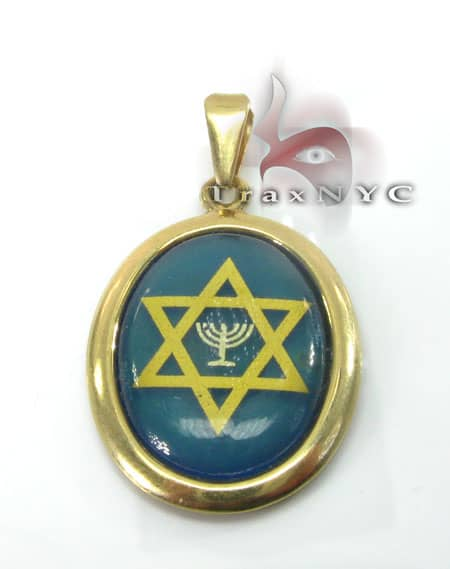 Jewish Star Locket Metal