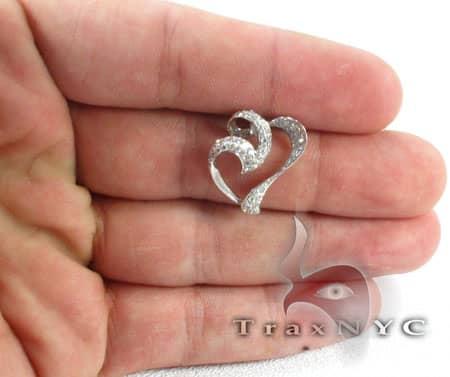 Murky Heart Pendant Stone