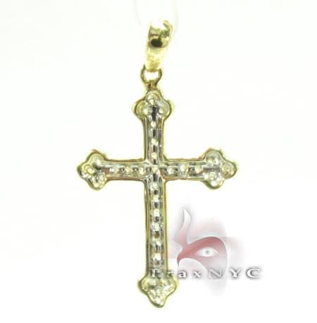 Golden Eternity Cross Style