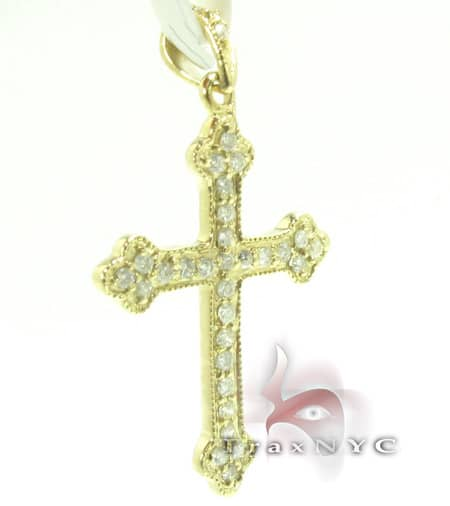 Golden Eternity Cross Style
