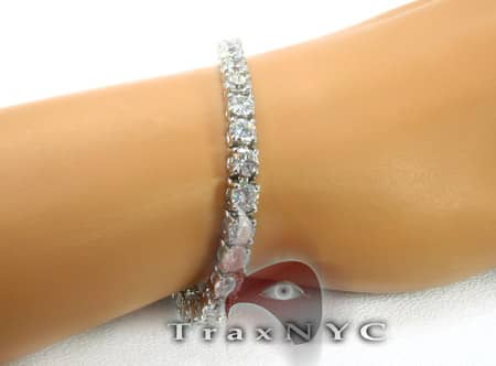 Ladies Diamond Tennis Bracelet Tennis