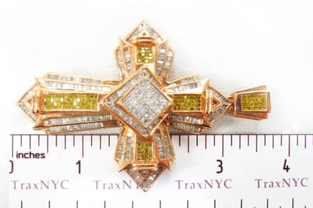 Arrowhead Canary Cross Diamond