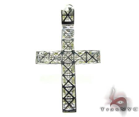 Mini Blue Corner YW Cross Diamond