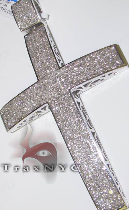 Online indiana jewelry unreal invisible cross diamond cross invisible cross diamond cross pendants white gold 14k 2550ct pri aloadofball Image collections