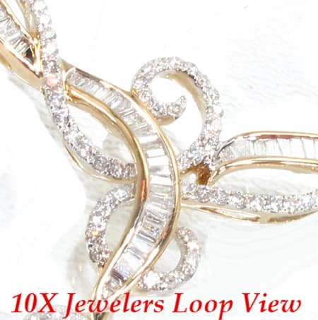 Valentine Necklace Diamond