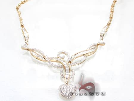 Valentine Necklace Diamond