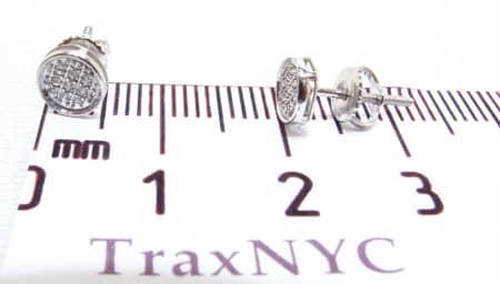 Circle Earrings Stone