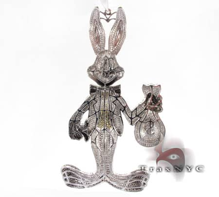 Bugs Bunny Money Pendant Metal