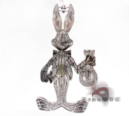 Bugs Bunny Money Pendant Metal